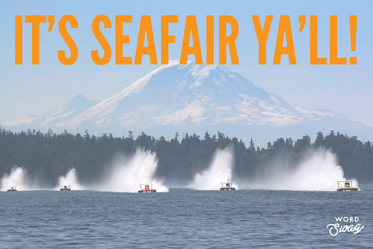 It's Seafair Ya'll! - Denise Perkins